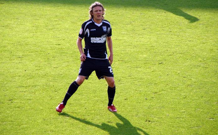 Footballer Jimmy Bullard