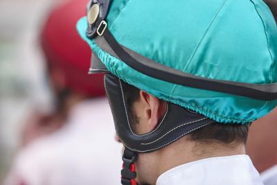 Jockey With Green Cap