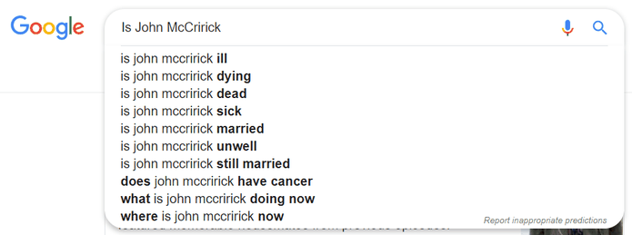 John McCririck Google Search