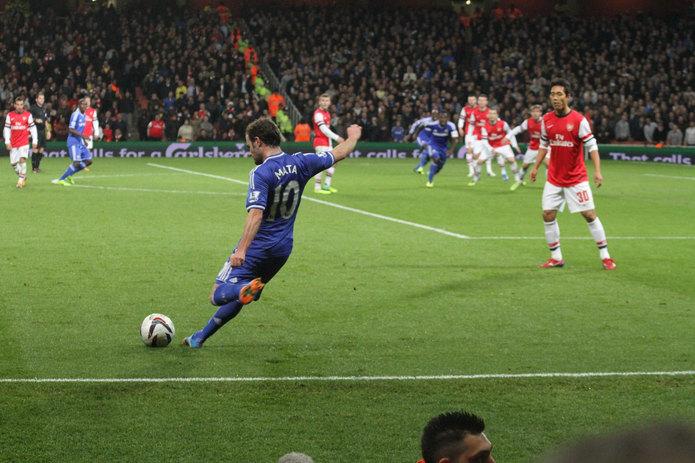 Juan Mata Free Kick