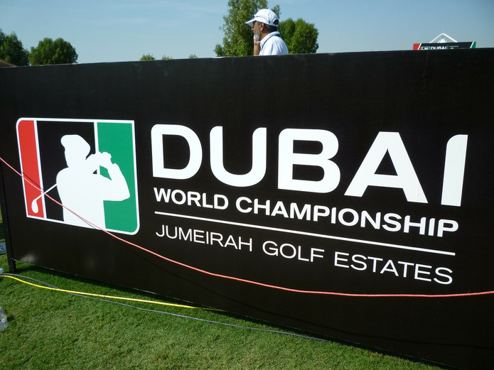 Jumeirah Golf Estates Sign
