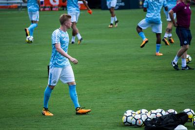 Manchester City Footballer Kevin De Bruyne