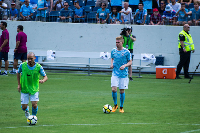 Kevin De Bruyne Training
