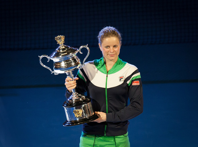 Kim Clijsters Winning Australian Open in 2011