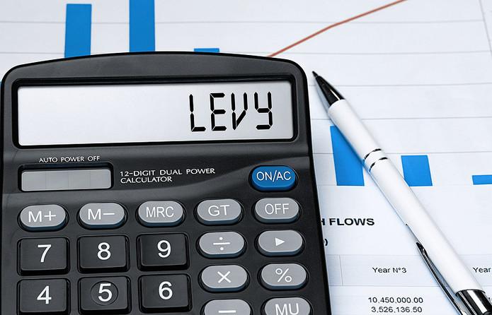 Levy on Calculator