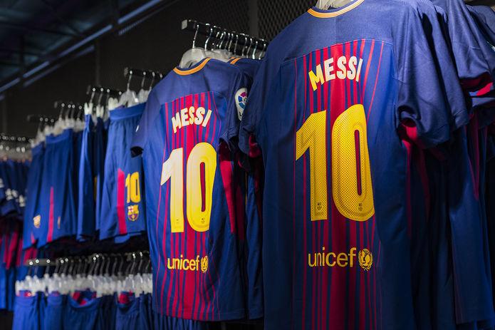 Lionel Messi Barcelona Shirts