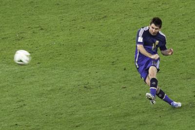 Argentinian Footballer Lionel Messi