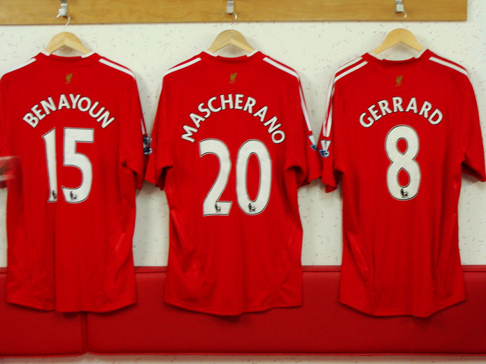 Liverpool Player Shirts