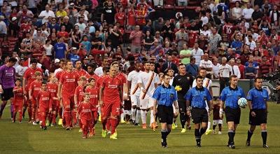 Liverpool v Roma 2014
