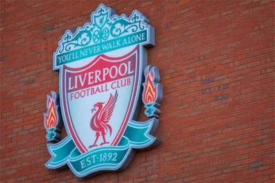 Liverpool Badge on Wall