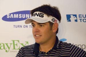 Golfer Louis Oosthuizen