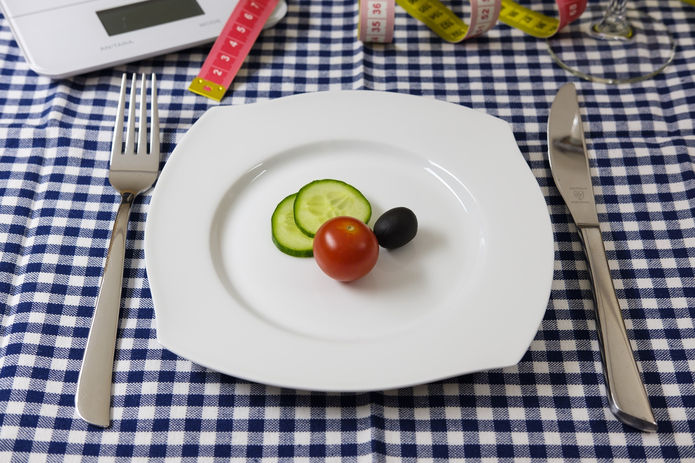 Low Calorie Plate of Food
