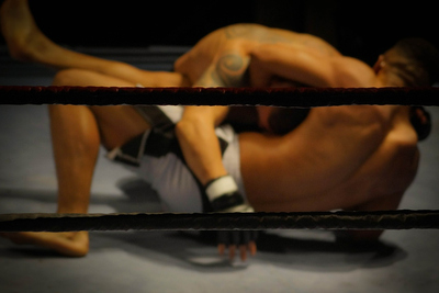 MMA Fighters Wrestling