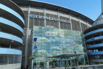 Manchester City Etihad Stadium Colin Bell Stand
