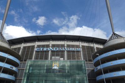 Manchester City Etihad Entrance