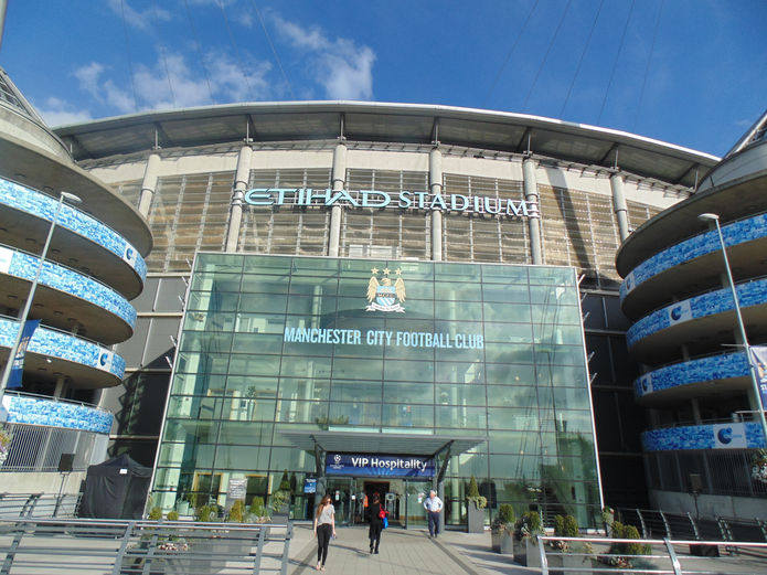 Manchester City Etihad Stadium Entrance