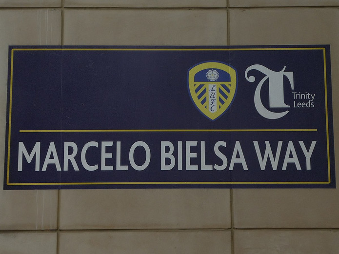 Marcelo Bielsa Way Sign