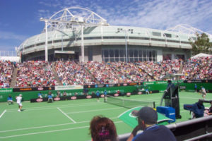 Court at the Australian Open Tennis