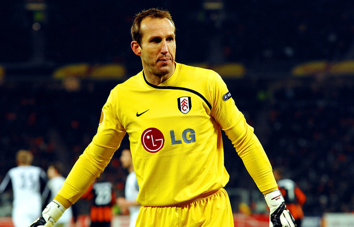 Mark Schwarzer Playing for Fulham