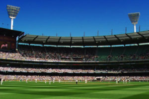 Cricket Match at the Melbourne Cricket Ground