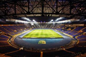 Metalist Stadium in Kharkiv, Ukraine