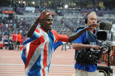 Mo Farah at the 2012 Olympics