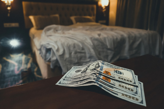 Money Left in Hotel Room
