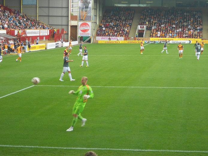 Motherwell Match at Fir Park