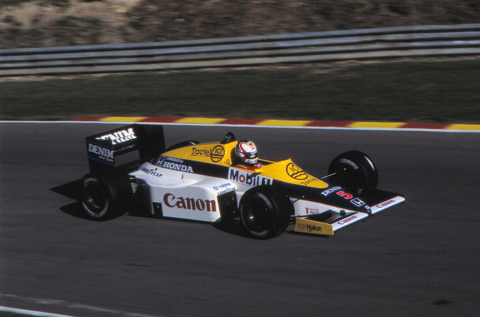 Nigel Mansell Williams 1985