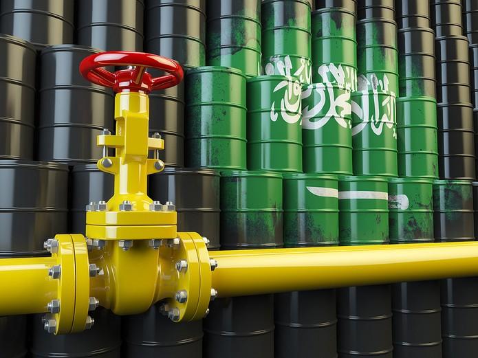 Oil Pipeline with Saudi Barrels