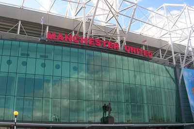 East Stand at Manchester United's Old Trafford