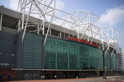 Manchester United's Old Trafford Exterior