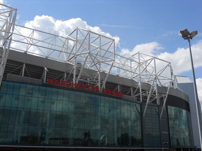 Manchester United Old Trafford Stadium Exterior