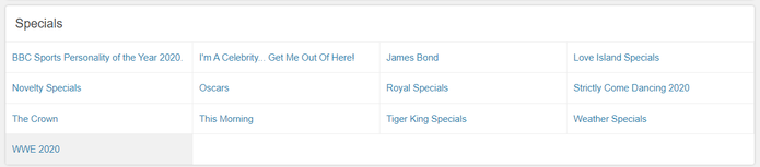 Paddy Power Specials