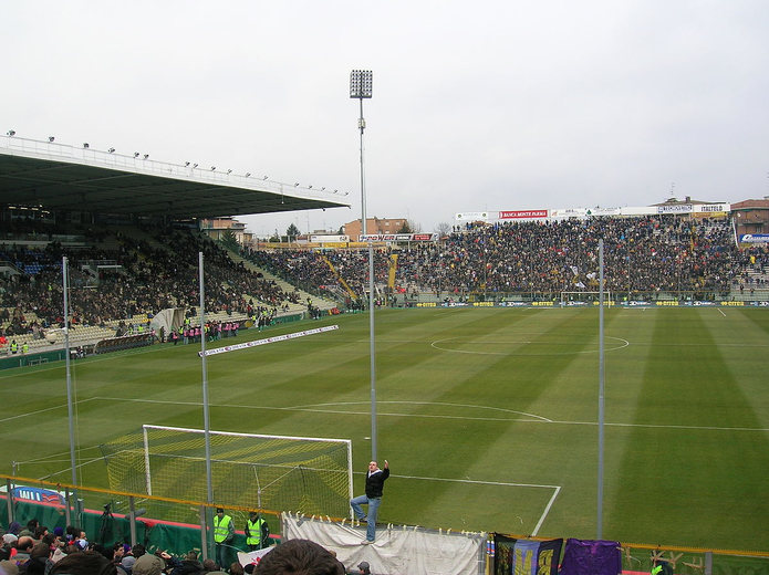 Parma's Stadio Ennio Tardini