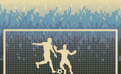 Penalty Kick Silhouette