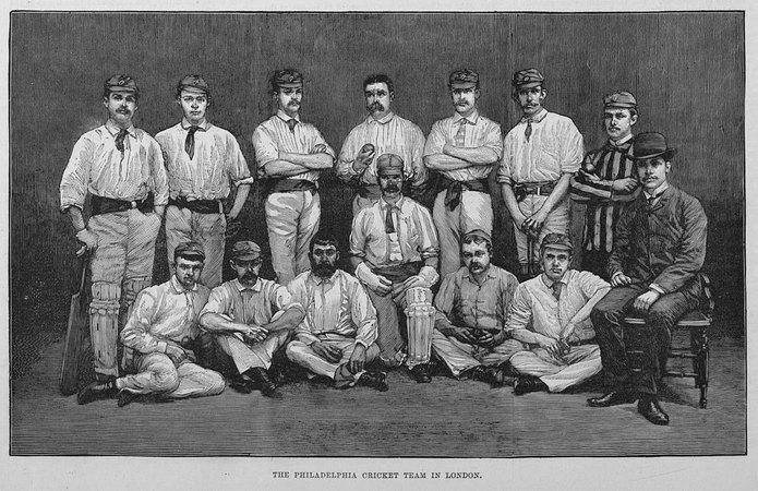 Philadelphia Cricket Team in 1884