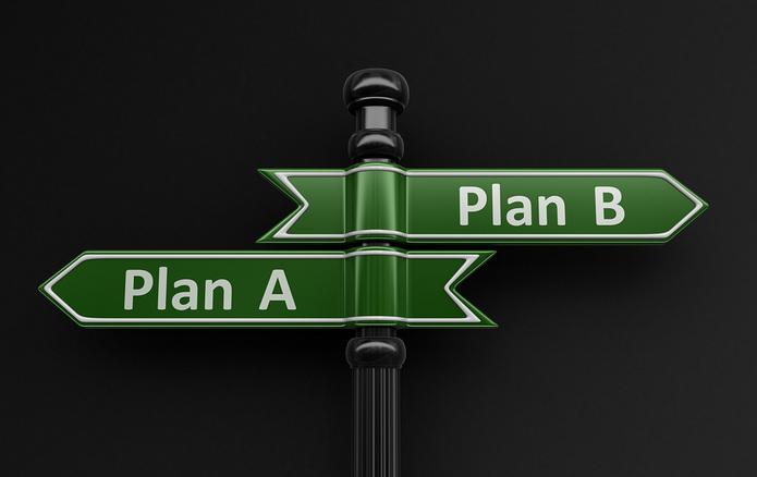Plan A Plan B Signpost