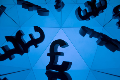 Pound Sterling Symbol Mirrored
