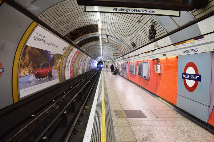 Quiet Underground Station
