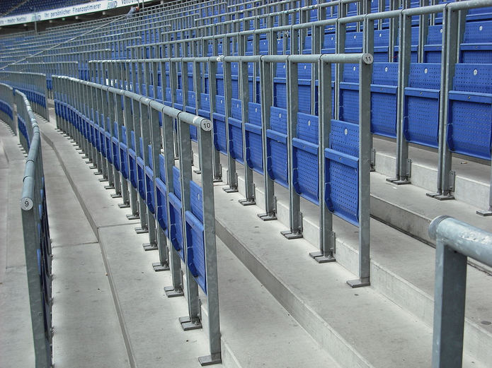 Rail Stadium Seating