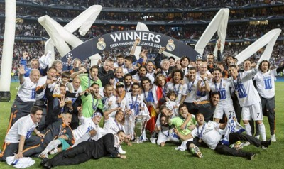 Real Madrid Win Champions League 2014