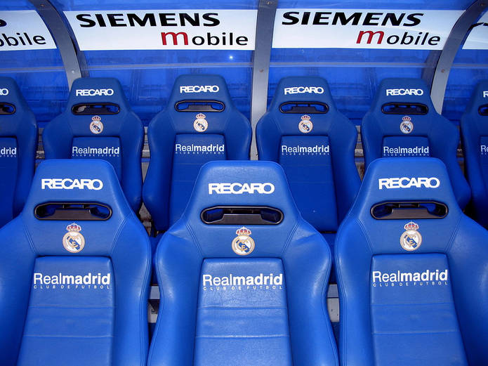 Real Madrid Players' Bench
