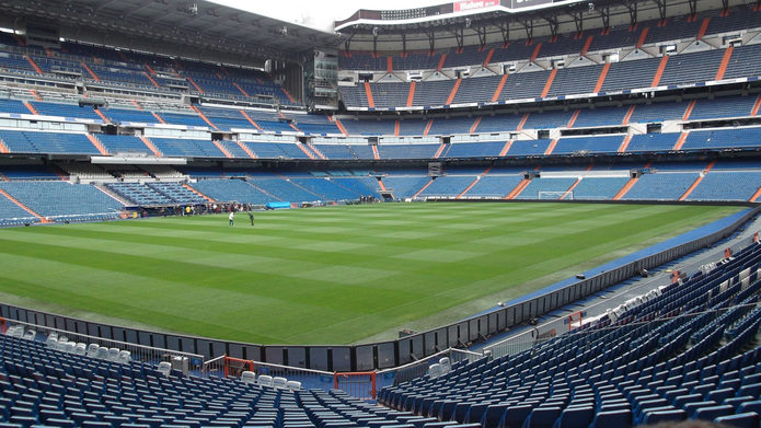 Real Madrid Santiago Bernabeu Stadium