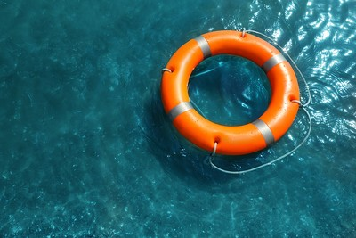 Rescue Ring on Water