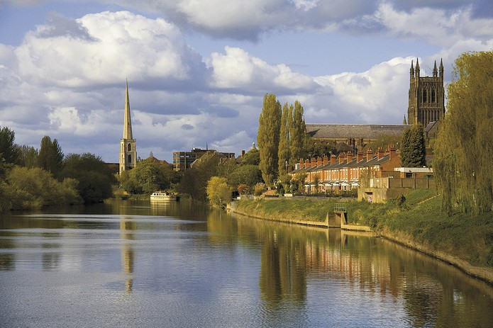 River Severn Worcester
