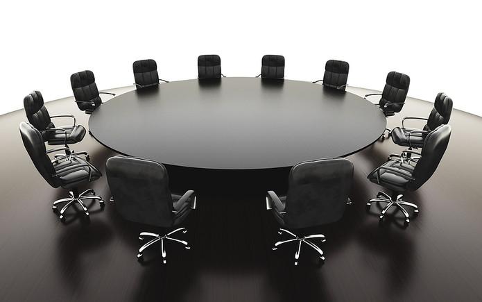 Round Boardroom Table