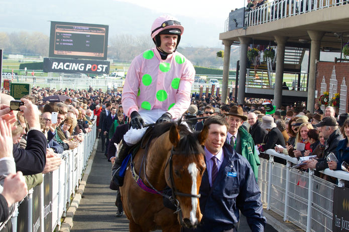 Ruby Walsh and Faugheen Winning at Cheltenham