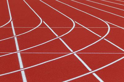 Running Track Bend