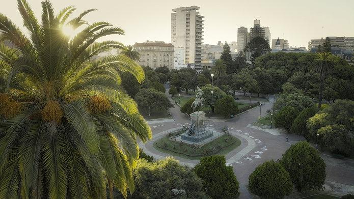 San Martin Park, city of La Plata, Argentina